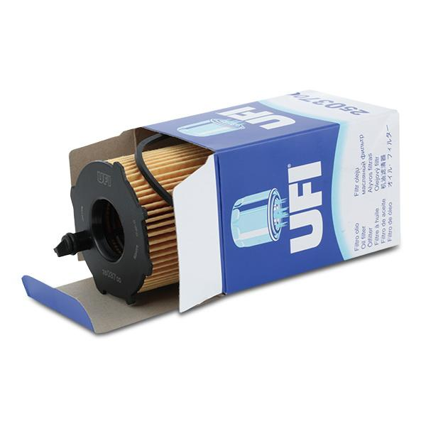 Filtro de aceite de motor UFI 25.037.00 8003453067363