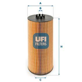 Ölfilter Ø: 121,0mm, Innendurchmesser 2: 57,0mm, Höhe: 262,5mm mit OEM-Nummer 000 180 2909