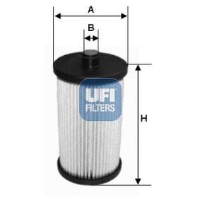 Ölfilter Ø: 68,5mm, Innendurchmesser 2: 14,5mm, Innendurchmesser 2: 14,5mm, Höhe: 121mm mit OEM-Nummer 5002176