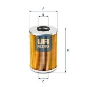 Ölfilter Ø: 82mm, Innendurchmesser 2: 27,5mm, Innendurchmesser 2: 27,5mm, Höhe: 128mm mit OEM-Nummer 5004 282