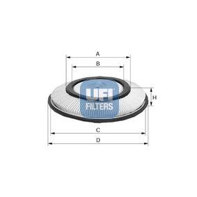 Luftfilter Höhe: 45,0mm mit OEM-Nummer 16546 77A10
