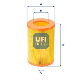 UFI  27.385.00 Luftfilter Höhe: 135,0mm