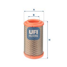 Luftfilter Höhe: 142mm mit OEM-Nummer 4311617