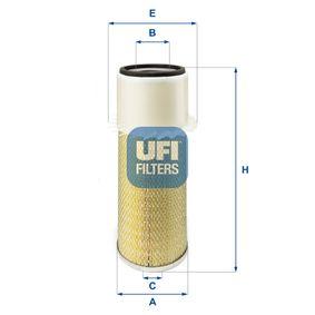 Luftfilter Höhe: 392,0mm mit OEM-Nummer 8505-10
