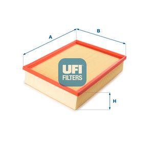 Luftfilter Länge: 281,0mm, Breite: 219,0mm, Höhe: 62,0mm mit OEM-Nummer 074129620