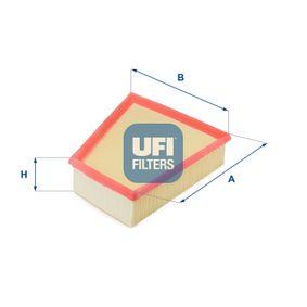 Luftfilter Länge: 213,0mm, Breite: 218,0mm, Höhe: 57,0mm mit OEM-Nummer 5JF129620A