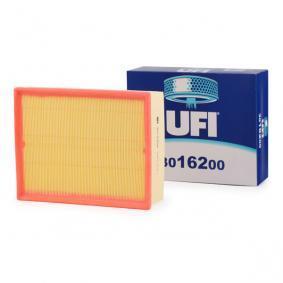 UFI Luftfilter 30.162.00 für AUDI A4 (8E2, B6) 1.9 TDI ab Baujahr 11.2000, 130 PS