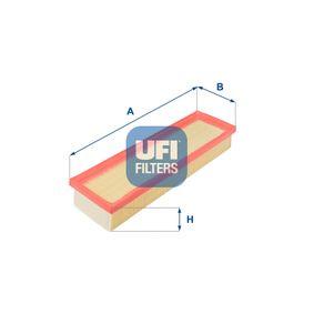 Filtro aria Lunghezza: 335mm, Largh.: 101mm, Alt.: 46mm, Lunghezza: 335mm con OEM Numero 1444-VJ