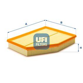 UFI  30.251.00 Luftfilter Länge: 294,2mm, Breite: 230,6mm, Höhe: 47,3mm