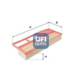 Filtro aria Lunghezza: 378mm, Largh.: 150mm, Alt.: 53mm, Lunghezza: 378mm con OEM Numero 5519 3849