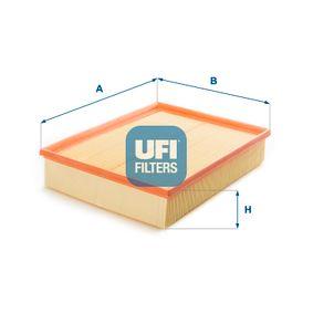 Luftfilter Länge: 302,0mm, Breite: 225,0mm, Höhe: 58,0mm mit OEM-Nummer PHE 0001 12