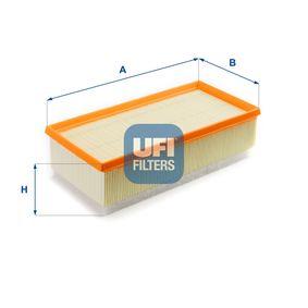 UFI  30.334.00 Luftfilter Länge: 305,0mm, Breite: 145,0mm, Höhe: 84,0mm