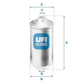 Filtro carburante 31.504.00 DEDRA (835) 2.0 i.e. Turbo Integrale ac 1991