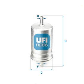 Kraftstofffilter Höhe: 140mm mit OEM-Nummer 1567 79
