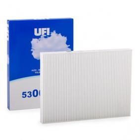 Filter, Innenraumluft Länge: 276,0mm, Breite: 206,0mm, Höhe: 25,0mm mit OEM-Nummer 1 H0 819 644 B