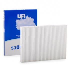Filter, interior air Length: 276mm, Width: 206mm, Height: 25mm with OEM Number 1H0 819 644