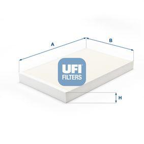 Filter, Innenraumluft Länge: 312mm, Breite: 193mm, Höhe: 33,5mm mit OEM-Nummer 4A0819439
