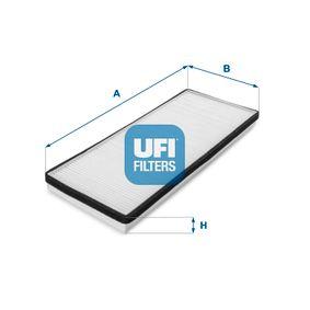 Filter, Innenraumluft Länge: 387mm, Breite: 147mm, Höhe: 33mm mit OEM-Nummer 8A0 819 439