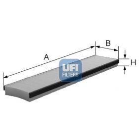 Filter, Innenraumluft Länge: 521,0mm, Breite: 111,0mm, Höhe: 30,0mm mit OEM-Nummer 7 180 932