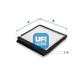 Filter, Innenraumluft Länge: 222mm, Breite: 212mm, Höhe: 18,5mm mit OEM-Nummer 6447.Z4