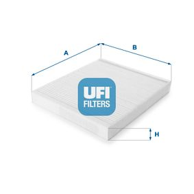 Filter, Innenraumluft Länge: 266mm, Breite: 232mm, Höhe: 30mm mit OEM-Nummer 93182436