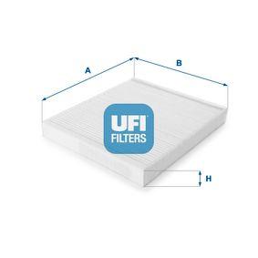 Filter, Innenraumluft Länge: 266mm, Breite: 232mm, Höhe: 30mm mit OEM-Nummer 90 559549
