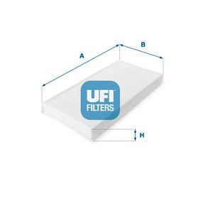 Filter, Innenraumluft Länge: 347,0mm, Breite: 165,0mm, Höhe: 30,0mm mit OEM-Nummer 1062 253