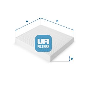 Filter, Innenraumluft Länge: 197mm, Breite: 215mm, Höhe: 25mm mit OEM-Nummer GS1-D61-P11