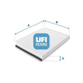 Filter, Innenraumluft Länge: 365,0mm, Breite: 246,0mm, Höhe: 35,0mm mit OEM-Nummer 2E0819638