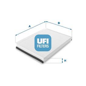Filter, Innenraumluft Länge: 365,0mm, Breite: 246,0mm, Höhe: 35,0mm mit OEM-Nummer A 906 830 02 18