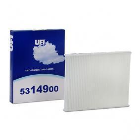 Filtro, aire habitáculo 53.149.00 BRAVO 2 (198) 2.0 D Multijet ac 2009