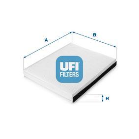 UFI Filter, Innenraumluft 53.189.00 für AUDI Q7 (4L) 3.0 TDI ab Baujahr 11.2007, 240 PS