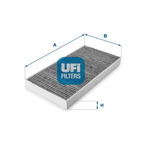 Filter, Innenraumluft Länge: 331mm, Breite: 163mm, Höhe: 31mm mit OEM-Nummer 91 79 904