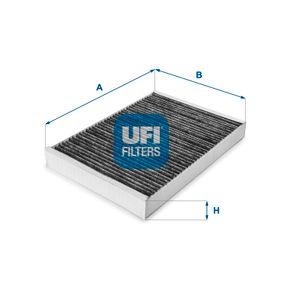 Filter, Innenraumluft Länge: 300,0mm, Breite: 204,5mm, Höhe: 30,0mm mit OEM-Nummer 8E0 819 439 C