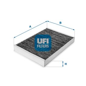 Filter, Innenraumluft Länge: 300mm, Breite: 204,5mm, Höhe: 30mm mit OEM-Nummer 8E0819439C