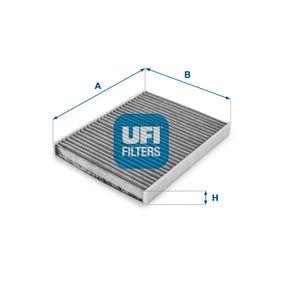 Filter, Innenraumluft Länge: 230,0mm, Breite: 177,0mm, Höhe: 20,0mm mit OEM-Nummer 46 723 435