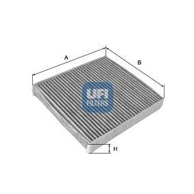 Filter, Innenraumluft Länge: 290,0mm, Breite: 226,0mm, Höhe: 20,0mm mit OEM-Nummer 60 814 643