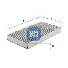Filter, Innenraumluft Länge: 290,0mm, Breite: 160,0mm, Höhe: 30,0mm mit OEM-Nummer 60653641