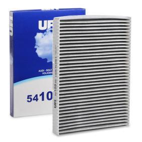 Filter, Innenraumluft Länge: 282,0mm, Breite: 206,0mm, Höhe: 30,0mm mit OEM-Nummer JZW819653