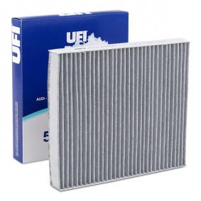 Filter, Innenraumluft Länge: 248mm, Breite: 215,5mm, Höhe: 32mm mit OEM-Nummer 4638300018