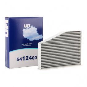 Filter, Innenraumluft Länge: 287,0mm, Breite: 217,0mm, Höhe: 57,0mm mit OEM-Nummer 1K1 819 653B