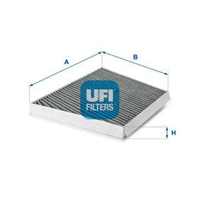 Filter, Innenraumluft Länge: 310,0mm, Breite: 255,0mm, Höhe: 34,0mm mit OEM-Nummer A211 830 00 18