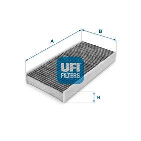Filter, Innenraumluft Länge: 314,0mm, Breite: 152,0mm, Höhe: 40,0mm mit OEM-Nummer 6441-EJ