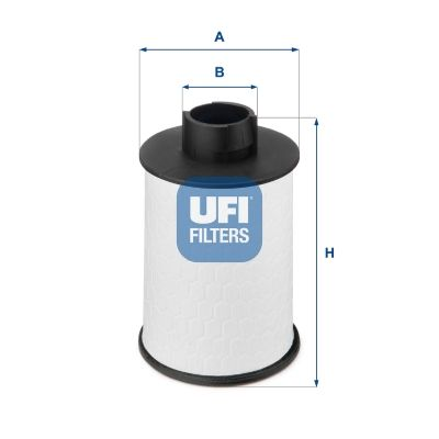 Brandstoffilter UFI 60.H2O.00 expert kennis