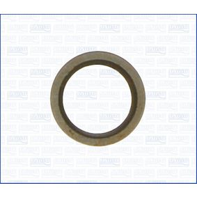 Seal, oil drain plug Ø: 24mm, Thickness: 1,5mm, Inner Diameter: 16,5mm with OEM Number 77 00 266 044