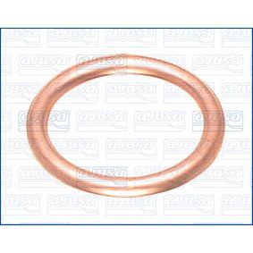AJUSA  18001100 Anello di tenuta, vite di scarico olio Ø: 19mm, Spessore: 2mm, Diametro interno: 14,5mm