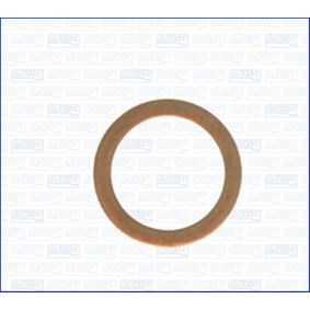 Seal, oil drain plug Ø: 17mm, Thickness: 1,5mm, Inner Diameter: 12mm with OEM Number 11081452