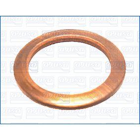 AJUSA Dichtring, Ölablaßschraube 21012700 für AUDI COUPE (89, 8B) 2.3 quattro ab Baujahr 05.1990, 134 PS