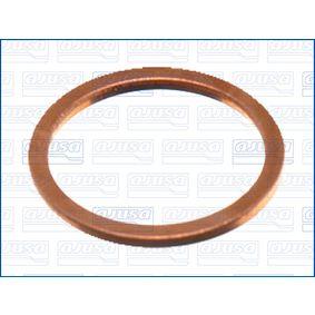 Anillo de junta, tapón roscado de vaciado de aceite Ø: 22mm, Espesor: 1,5mm, Diám. int.: 18mm con OEM número 1113 7 546 275