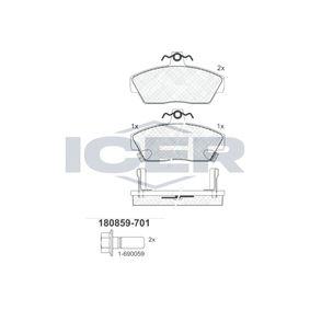 Bremsbelagsatz, Scheibenbremse Breite: 117,5mm, Höhe: 65,6mm, Dicke/Stärke: 18mm mit OEM-Nummer GBP90314